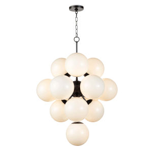 La Dame Oil Rubbed Bronze 13-Light Chandelier
