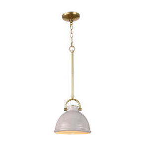 Eloise Grey One-Light Mini Pendant