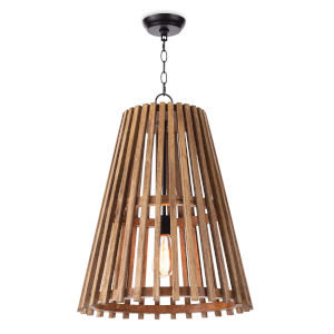Orchard Natural One-Light 19-Inch Pendant