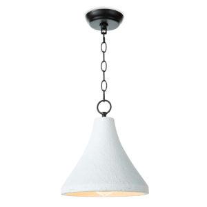 Billie White One-Light Pendant