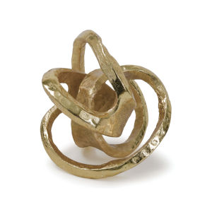 Knot Gold Decorative Object