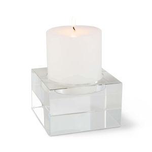 Lexi Transparent Candle Holder, Large