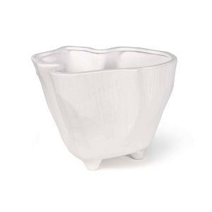 Everest White Ceramic Vase
