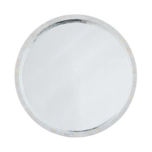 Mother Of Pearl White Wall Mirror
