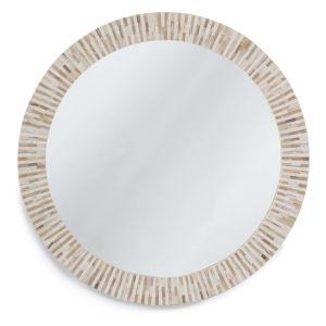 Multitone White Wall Mirror