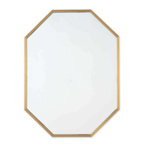Hale Natural Brass Wall Mirror