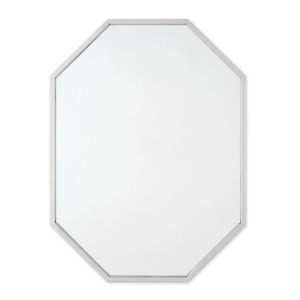 Hale Polished Nickel Wall Mirror