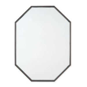 Hale Blackened Steel Wall Mirror