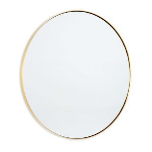 Rowen Natural Brass Mirror