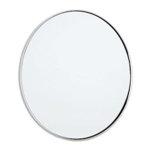 Rowen Polished Nickel Mirror