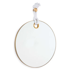 Porter Natural Brass Mirror