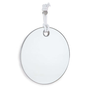 Porter Polished Nickel Mirror