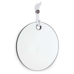 Porter Blackened Steel Mirror