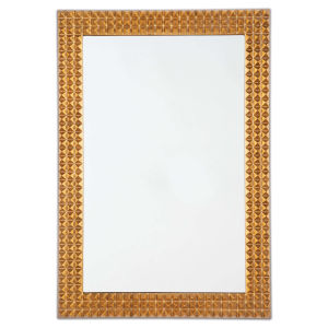 Pantera Gold Leaf Mirror