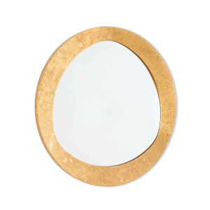 Insignia Gold Leaf Mirror