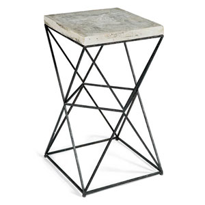 Live From Detroit Raw Accent Table
