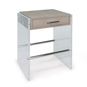 Classics Ivory End Table