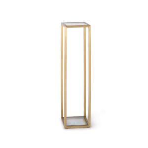 Sophie Natural Brass Side Table