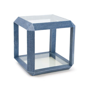 Aegean Indigo Side Table