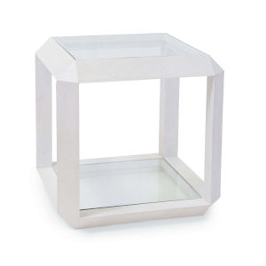 Aegean White Side Table