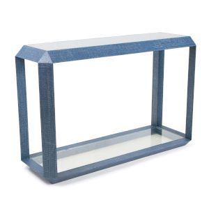 Aegean Indigo Console Table