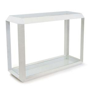 Aegean White Console Table
