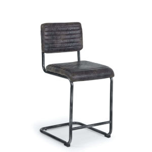 Dylan Ebony Counter Stool, Set Of 2