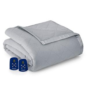 Greystone King Micro Flannel Electric Blanket