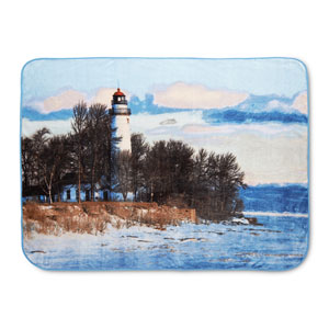Lighthouse 60 x 80 In. Hi Pile Luxury Throw
