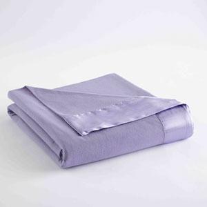 Amethyst King Micro Flannel Lightweight All Seasons Sheet Blanket