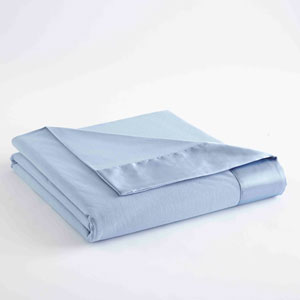 Wedgewood Twin Micro Flannel Lightweight All Seasons Sheet Blanket