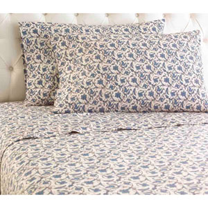 Jacobean Full Micro Flannel Sheet, Set of 4