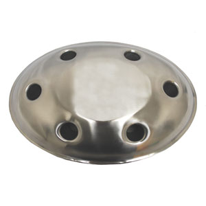 KINDWER Stainless Steel Oval Bouquet Wine Holder