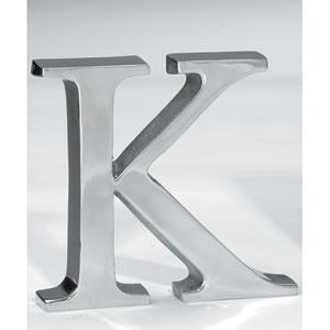 Kindwer Silver Aluminum Letter K
