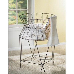 Kindwer Wire Laundry Basket Hamper