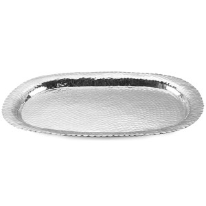 Kindwer Silver Oval Serving Tray