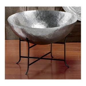 Kindwer Silver Bowl with Stand