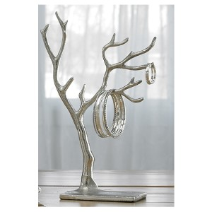 Kindwer Silver Multi Branch Tree of Life Jewelry Holder