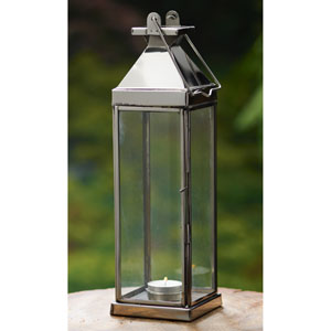 Kindwer Silver Candle Lantern