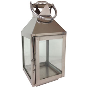 Kindwer Silver Aluminum Candle Lantern