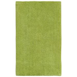 Plush Pile Green 21-Inch x 34-Inch Bath Rug