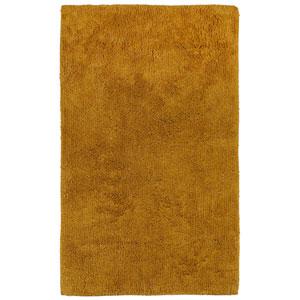 Plush Pile Gold 21-Inch x 34-Inch Bath Rug