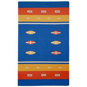 Sedona Azul Blue Rectangular: 4 Ft x 6 Ft Rug