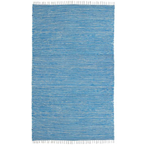 Complex Aqua Rectangular: 3 Ft x 5 Ft Rug