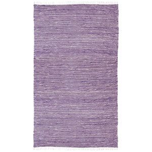 Complex Purple Rectangular: 3 Ft x 5 Ft Rug