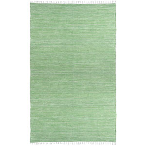 Complex Green Rectangular: 3 Ft x 5 Ft Rug