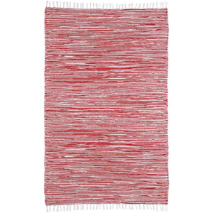 Complex Red Rectangular: 3 Ft x 5 Ft Rug