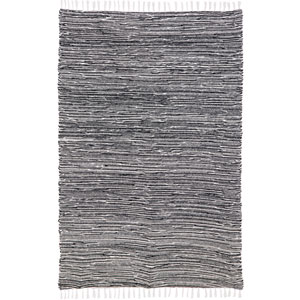 Complex Black Rectangular: 3 Ft x 5 Ft Rug