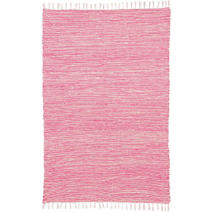 Complex Pink Chenille Rectangular: 5 Ft. x 8 Ft. Rug
