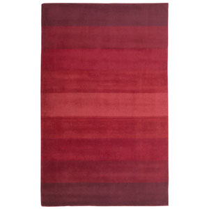 Aspect Red Stripes Rectangular: 4 Ft. x 6 Ft. Rug